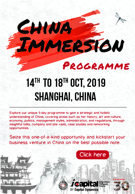 China Immersion Programme